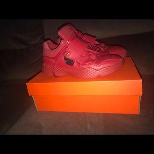 Boys Red Jordan's